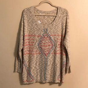 New- Maurice's Sweater